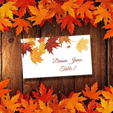 Best 25  Fall place cards ideas on Pinterest   Names of