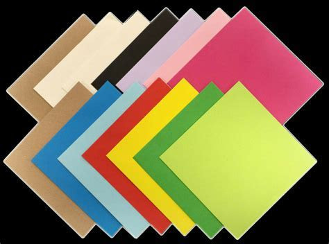 Square Coloured Envelopes 5x5 6x6 for Greeting Cards Party