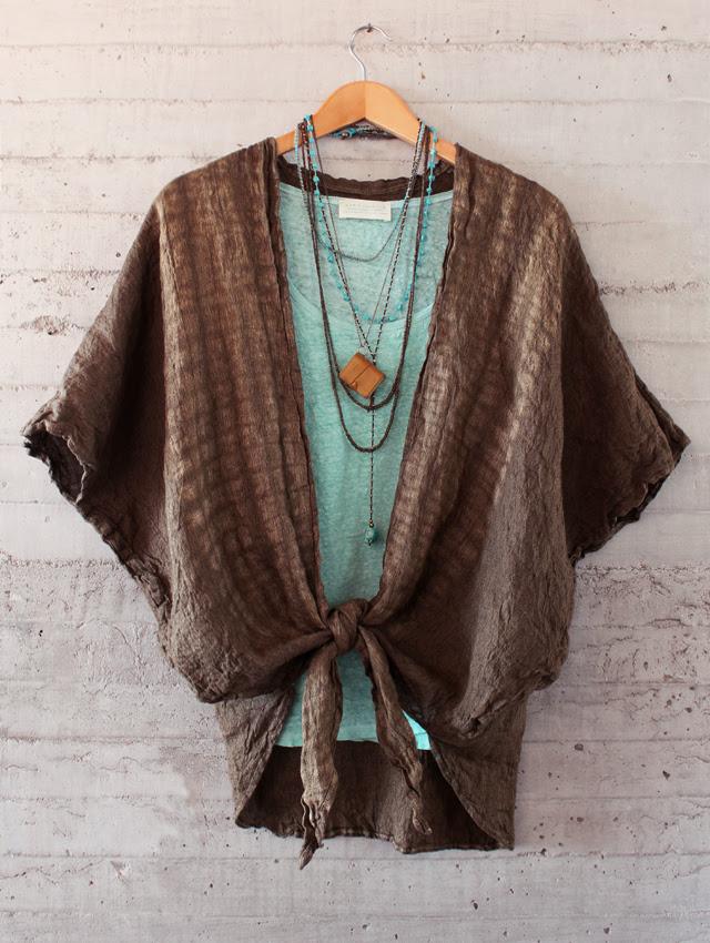 Tie-Dye Linen Top