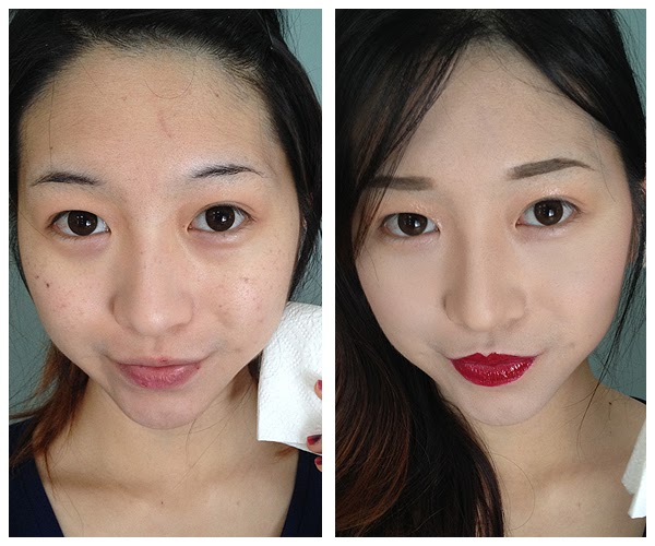 Fab review and fotd the face shop magic cover bb cream l for Bb shopping it