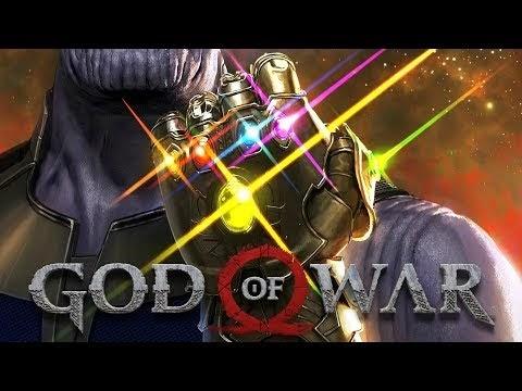 Gameplay GOD OF WAR Walkthrough  PS4  (AVENGERS INFINITY WAR EASTER EGG)