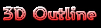 3D Outline