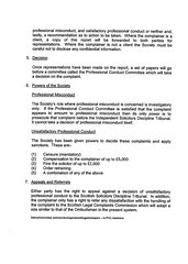 Law Society to SCC - Brief None on Draft Conduct Complaints Process Page 2
