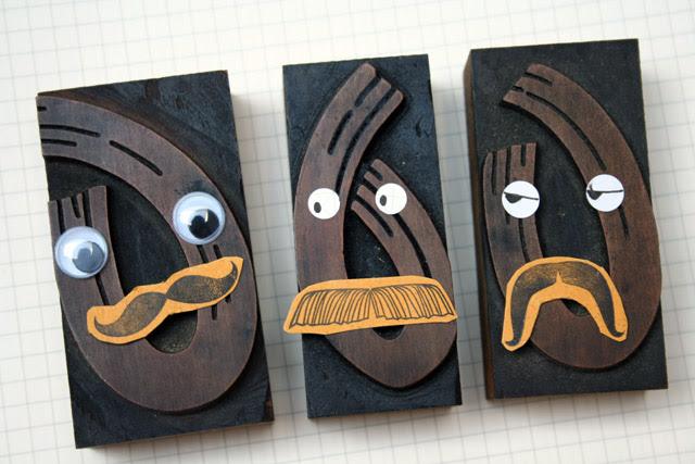 letter faces