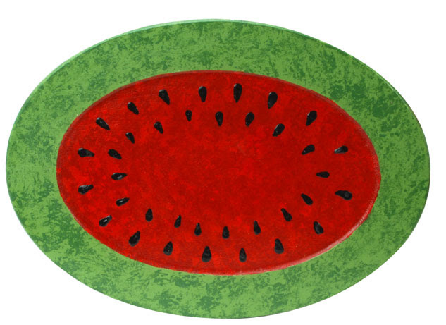 Watermelon Platter Painting Project