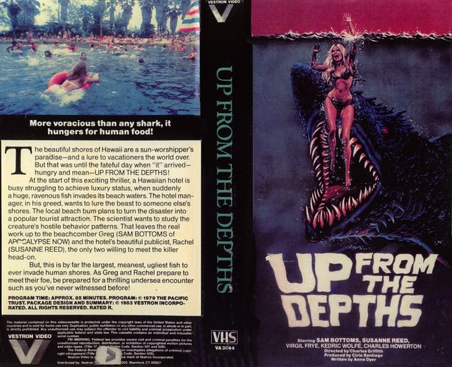 Up From The Depths (VHS Box Art)