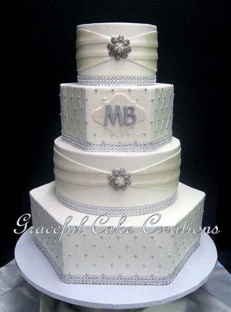 Meer dan 1000 ideeën over Hexagon Wedding Cake op
