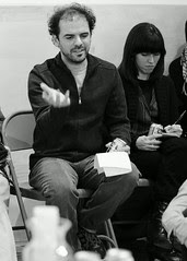 Pedro Velez in Crisis-Free Arts Criticism Salon @ threewalls