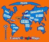 Mapa guugle - online jigsaw puzzle - 80 pieces