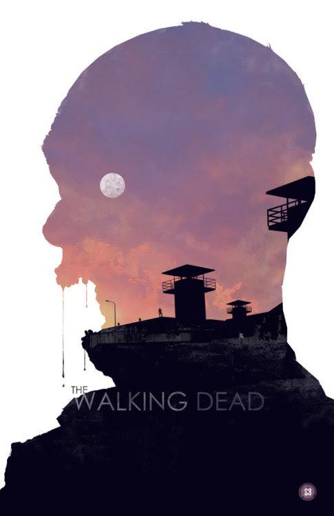 The Walking Dead-season 3 by BigBadRobot http://etsy.com/shop/bigbadrobot