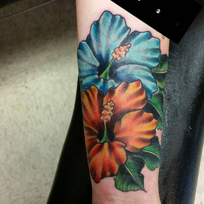 Tattoo Hibiscus Flower Gallery Flowers Healthy