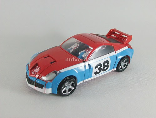 Transformers Smokescreen Classics Henkei - modo alterno