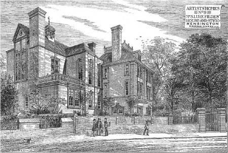 Artists' Homes: Luke Fildes