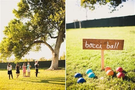 lawn games perfect   summer wedding
