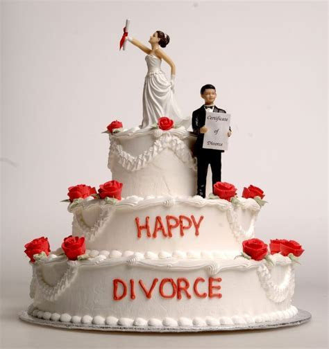 Funny DIVORCE cakes   People just want to have fun