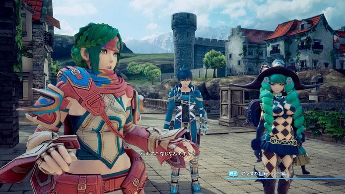 Uma das cutscenes de Star Ocean: Integrity and Faithlessness (Foto: Divulgação/Square Enix)