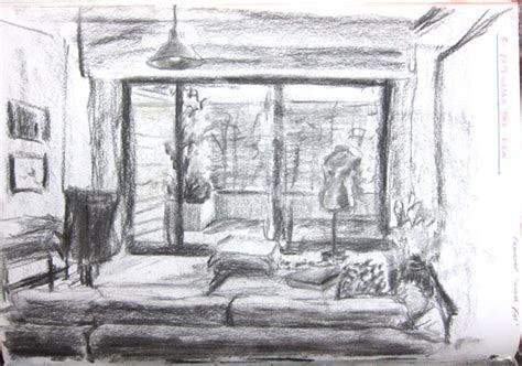 extending  view tonal drawings  sketchbook
