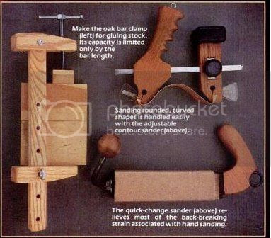 Homemade Woodworking Hand Tools