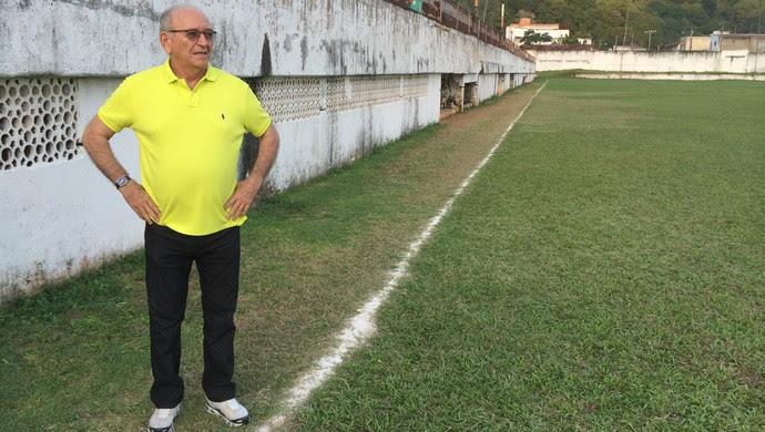 Alecrim 100 anos - Ferdinando Teixeira, ex-técnico - Estádio Juvenal Lamartine, em Natal (Foto: Jocaff Souza/GloboEsporte.com)