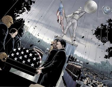 Captain America's Funeral