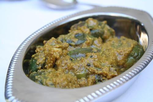Khatte Meethe Baingain: Baby eggplant