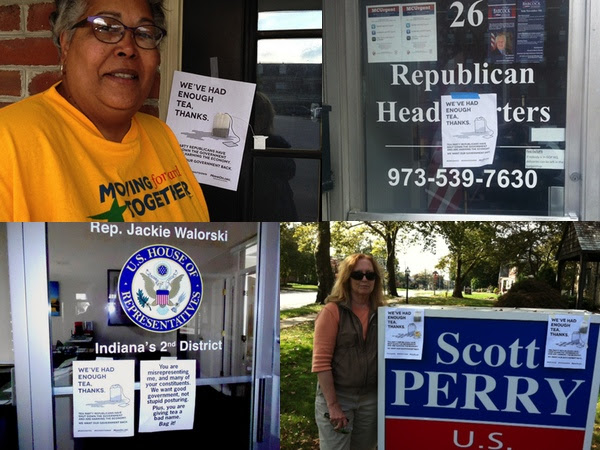 Members drop by congressional offices
