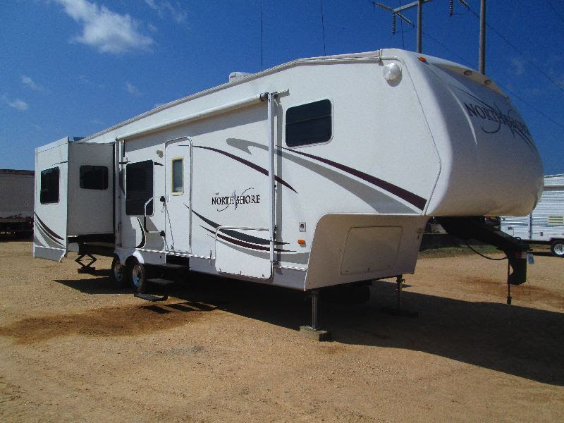 2008 31RG NORTHSHORE GOOSENECK TRAVEL TRAILER, S/N ...