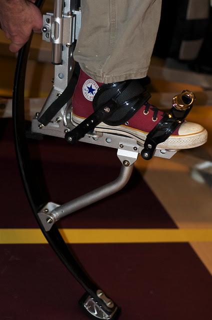 Stilts Go High Tech