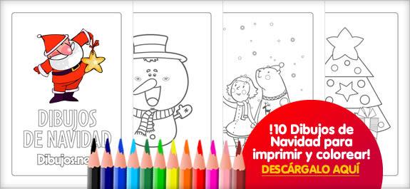 Descargate El Libro Para Colorear De Dibujos De Navidad De Dibujos