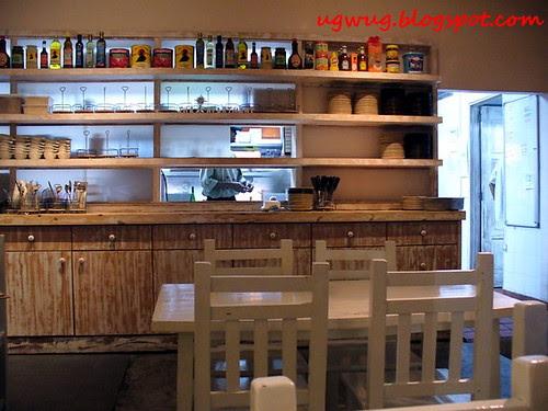 The Apartment - Kitchen area