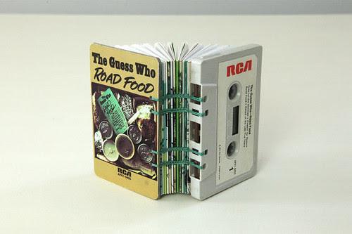 Cassette Tape Book