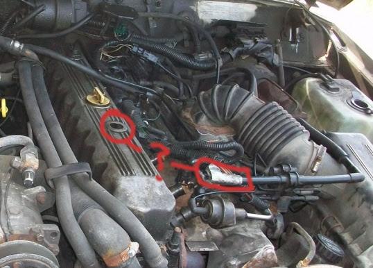 Vacuum lines jeep cherokee