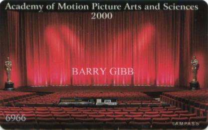 Academy Motion Picture Arts and Sciences Membership Cards