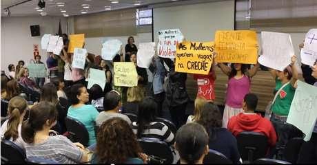 Alunas pedem mais respeito da reitoria da Unicamp Foto: Divulgação