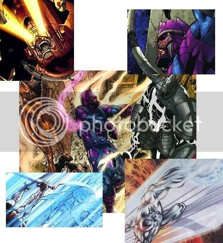 Queda e ascensão de Galactus e seus arautos