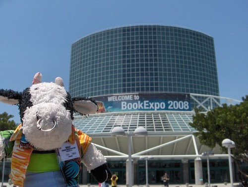 Hi! Welcome to BookExpo America, in sunny Los Angeles.