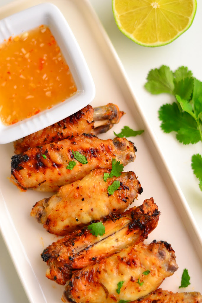 Thai lime and coriander chicken wings 1