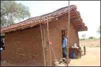 Hut of occupying Sinhalese in Mayilaththa-madu