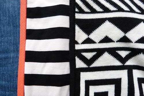 black zigs, white zags