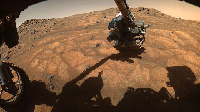 O rover Perseverança Mars da NASA começou sua primeira campanha científica