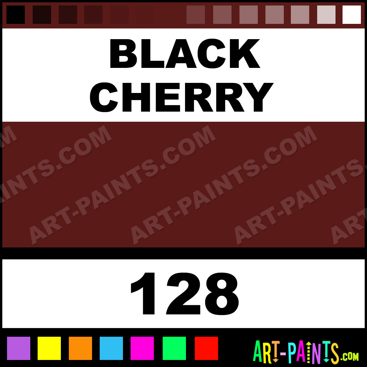 Black Cherry Just For Flowers Spray Paints 128 Black Cherry