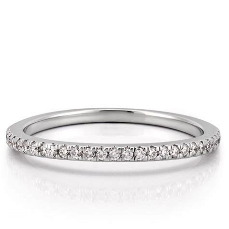 Women's Curved Diamond Wedding Band   Abila Band   Do Amore