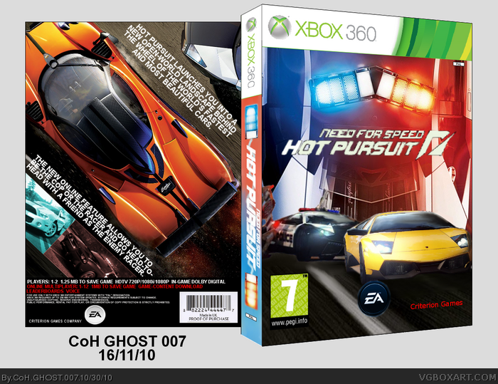 Need For Speed Hot Pursuit 2 Xbox 360 Need4speed Fans