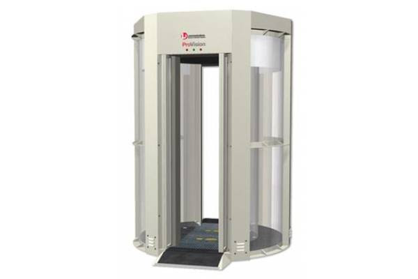 New 3D body scanner to be tested in Canada at Kelowna International Airport. Image: L3 ProVision.