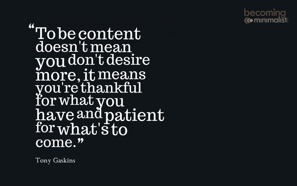 Contentment Quotes Sayings Contentment Picture Quotes