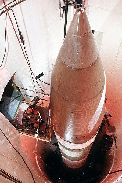 Ciberguerra? USAF perde contato com mais de dez por cento do arsenal de mísseis intercontinentais do país