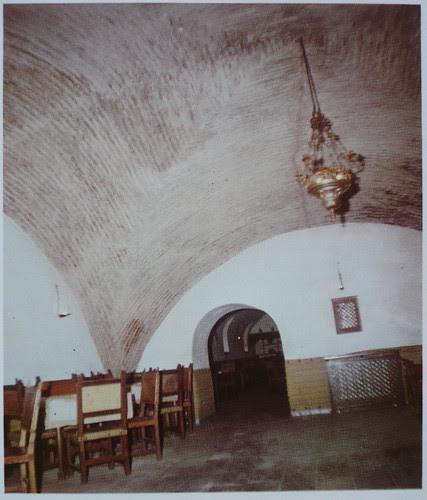 Palacio de Fuensalida en 1979. Bóvedas de las caballerizas