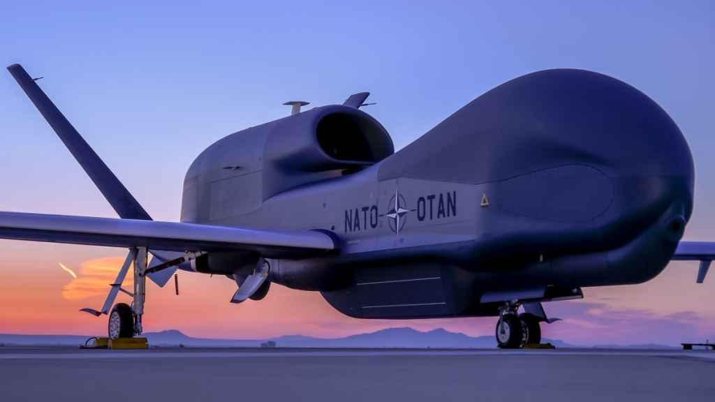 Los drones de la OTAN corresponden con el modelo RQ-4B Global Hawk Block 40.