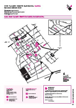 mapa talleres artistas de sarria 2016
