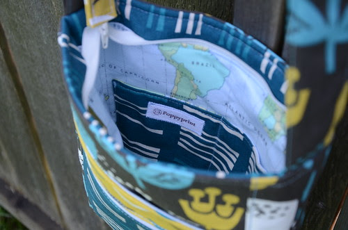 2-Zip Hipster by Poppyprint